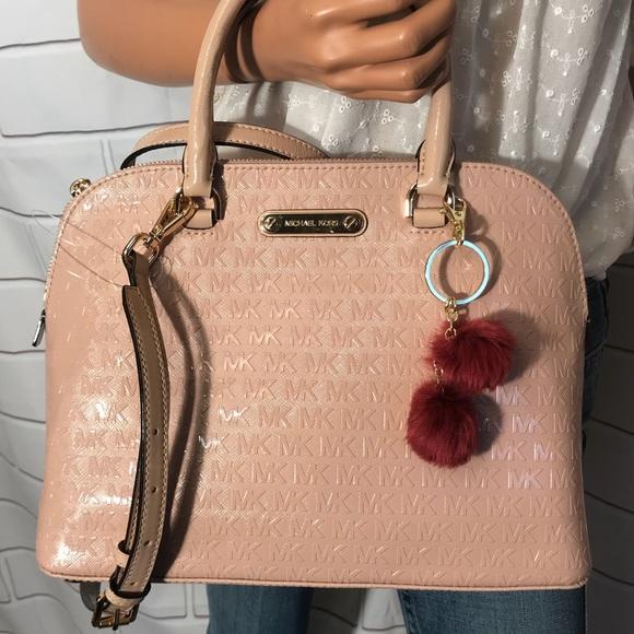 37cd328e35b2 NWT Michael Kors Domed Handbag  348. M 5a9d69173316278486759d1e